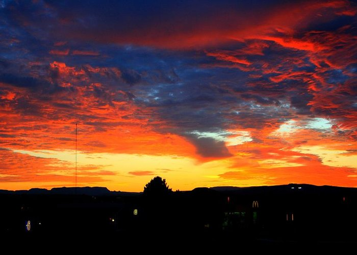 Arizona Greeting Card featuring the photograph Morning Magic by Miles Stites