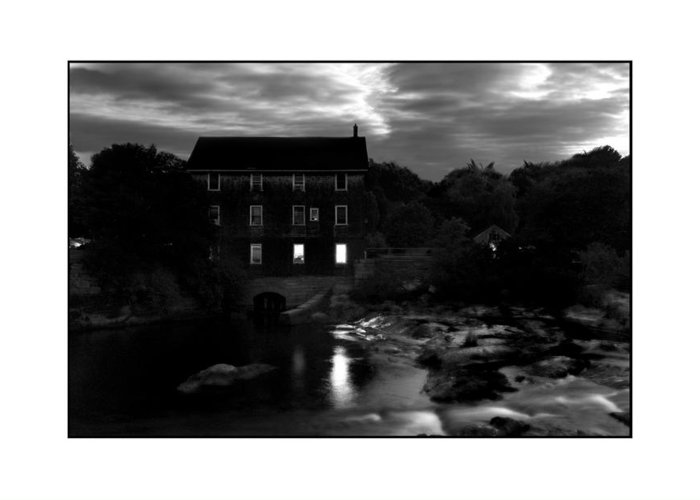 Landscape Greeting Card featuring the photograph Old Mill by Filipe N Marques