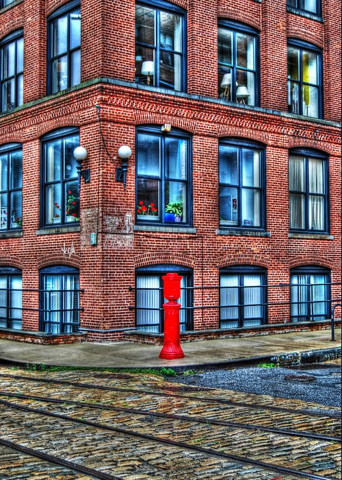 Brooklyn Greeting Card featuring the photograph Old World Brooklyn by Randy Aveille
