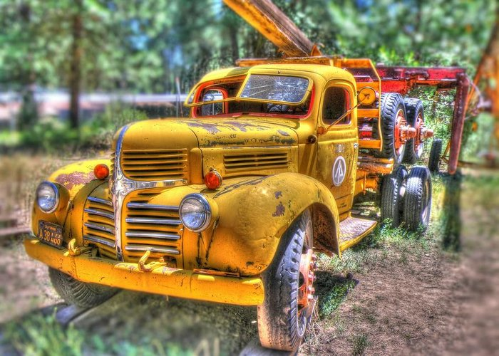 Heavy Duty Truck Greeting Cards