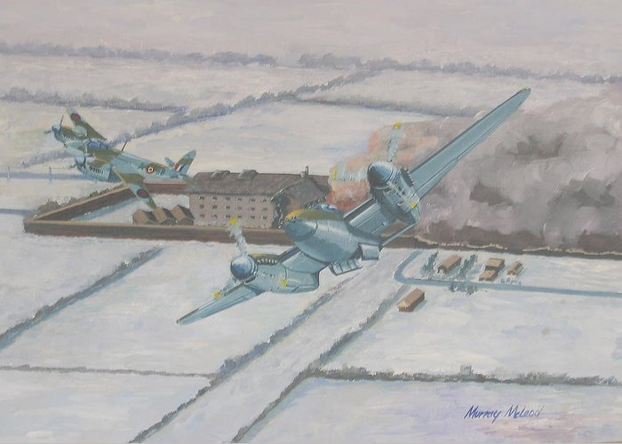 Bombercommand Greeting Cards