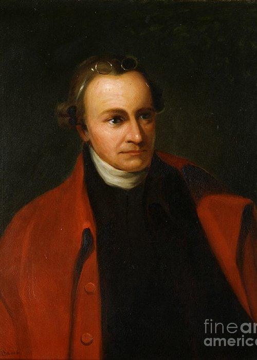 History Greeting Card featuring the photograph Patrick Henry, American Patriot by Science Source