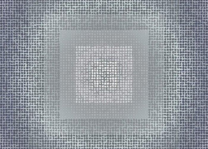 Pattern 78 Greeting Card featuring the digital art Pattern 78 by Marko Sabotin