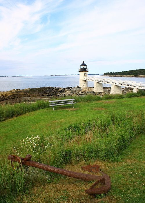 Seascape Greeting Card featuring the photograph Port Clyde by Doug Mills