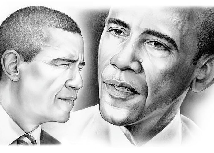Barack Obama Greeting Cards