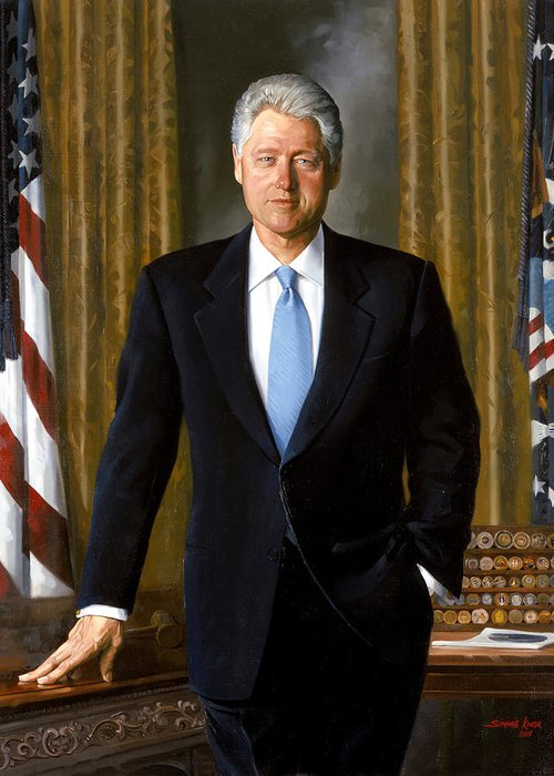 42nd President Greeting Cards