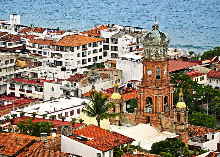 Puerto Vallarta Greeting Cards
