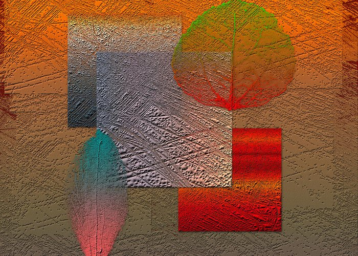 Abstracts By Serge Averbukh Greeting Card featuring the photograph Quiet Sunset at the End of Northern Summer by Serge Averbukh
