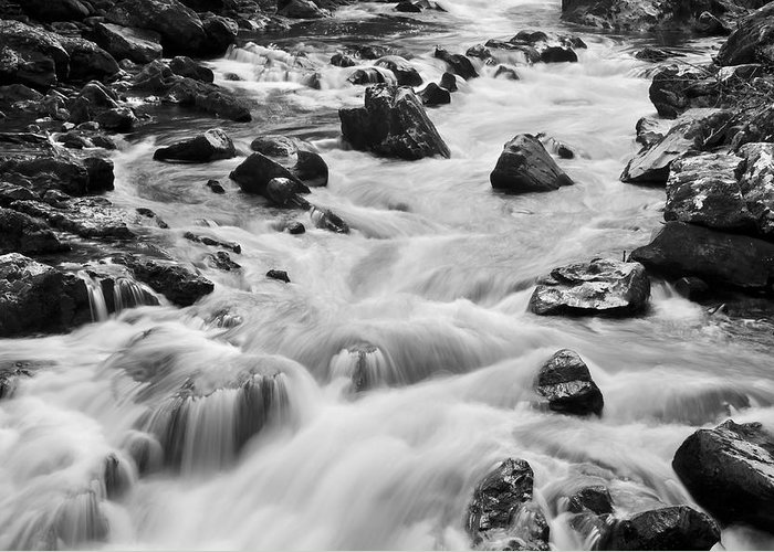 Beautiful Greeting Card featuring the photograph Rocky River by Svetlana Sewell