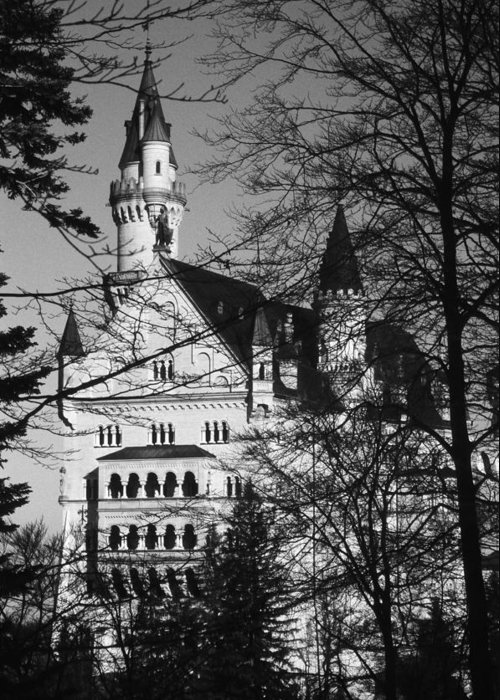 Europe Greeting Card featuring the photograph Schloss Neuschwanstein by Juergen Weiss