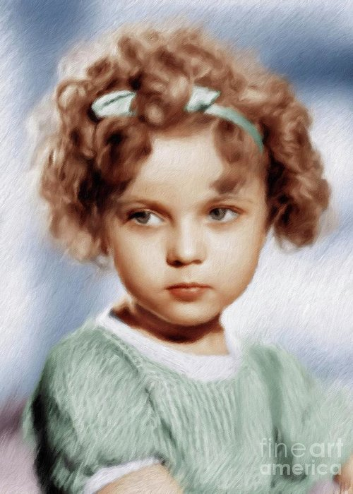 Shirley Temple Greeting Cards