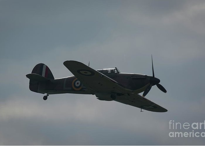 Spitfire Greeting Card featuring the photograph Spitfire by Philip Pound