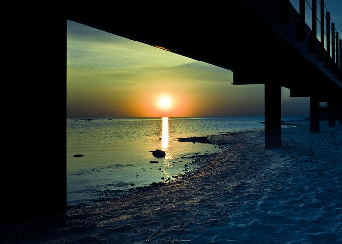 Summer Greeting Card featuring the photograph Summer Glow by Jason Naudi Photography