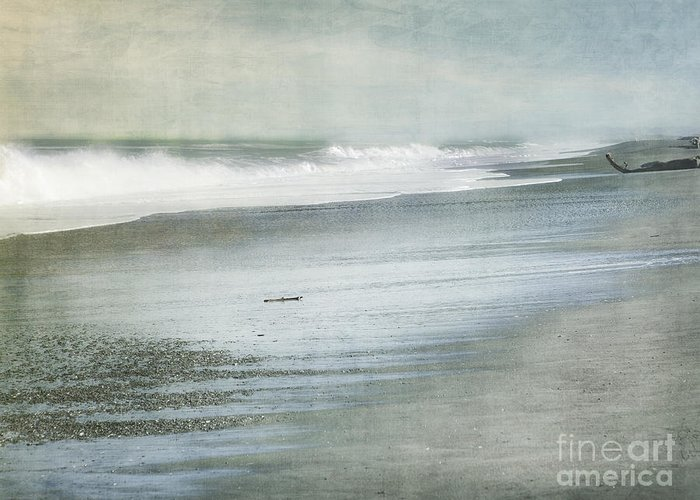 Beach Greeting Card featuring the photograph The Beach by Linde Townsend