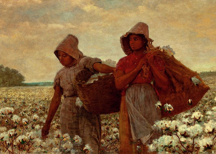 The Cotton Pickers Greeting Cards