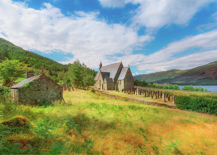 Ballichulish Church Greeting Card featuring the photograph The Old Highland Church by Roy McPeak