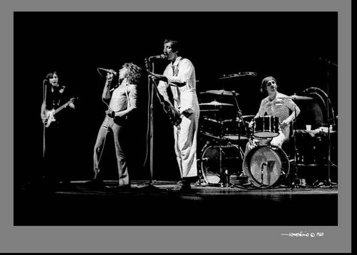 The Who Greeting Card featuring the photograph The Who by Jonathan Fine