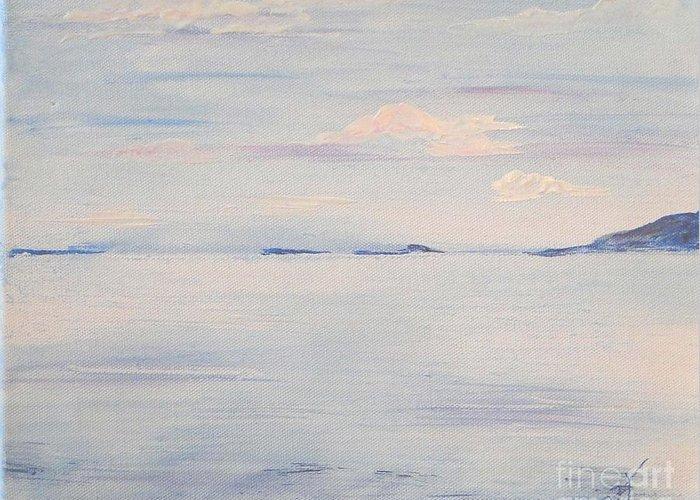 Tranquil Waters Painting By Carol Ellis
