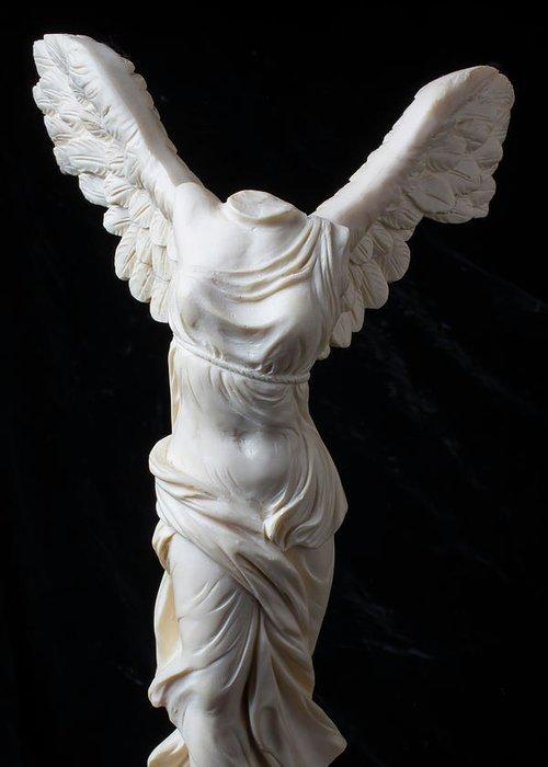 Greek Goddess Nike Greeting Cards