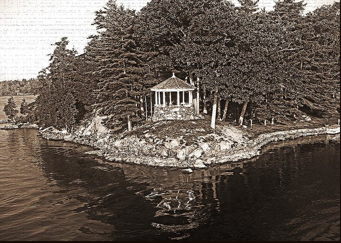 1000 Islands Greeting Card featuring the photograph 1000 Island Scenes 9 by Steve Ohlsen