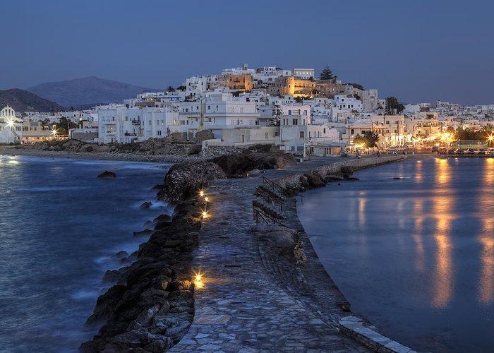 Naxos Greeting Card featuring the photograph Naxos - Cyclades - Greece by Joana Kruse