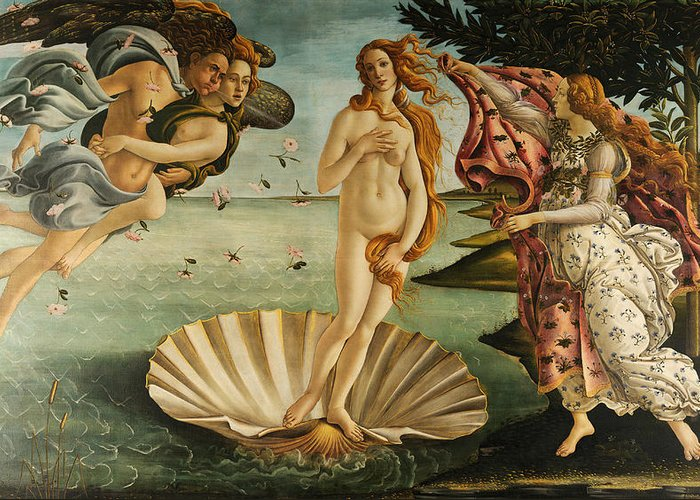 Sandro Botticelli Stationery