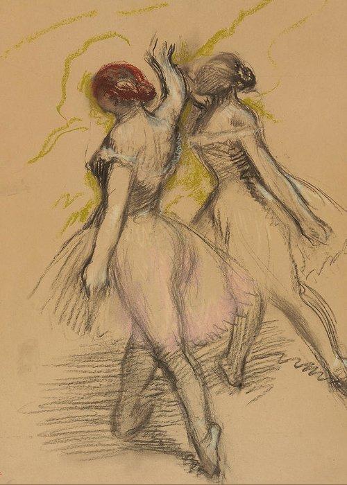 Edgar Degas Greeting Cards