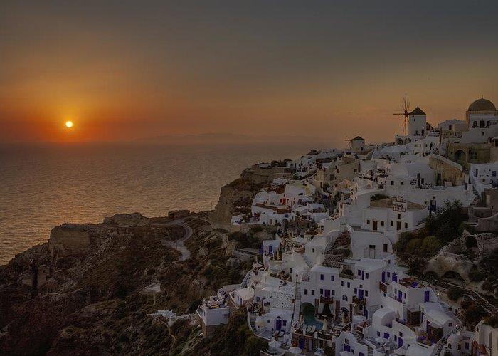 Oia Greeting Card featuring the photograph Oia - Santorini by Joana Kruse