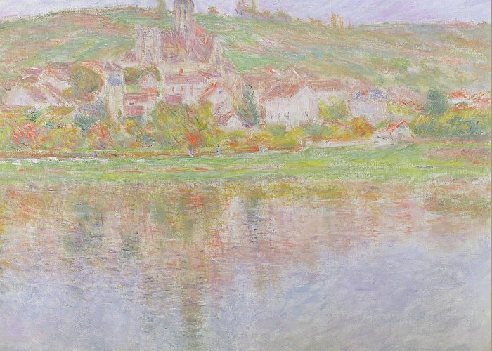 Vetheuil Greeting Cards