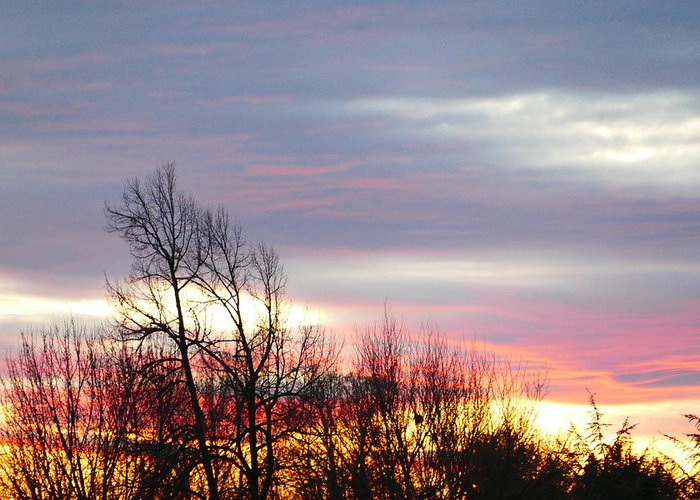 Idaho Sunset Greeting Card featuring the photograph Horizon by Paul Stanner