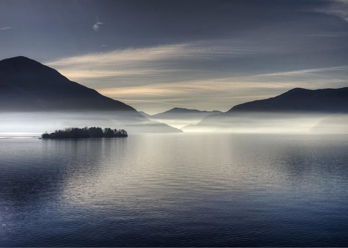 Travel Greeting Card featuring the photograph Lake Maggiore by Joana Kruse