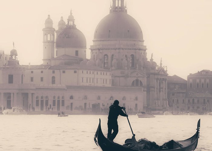 Venice Greeting Card featuring the photograph Venezia by Joana Kruse