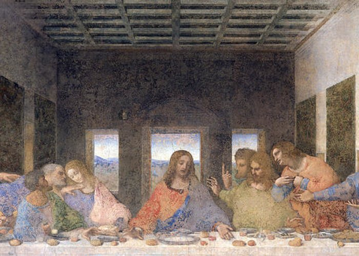 The Last Supper Greeting Card For Sale By Leonardo Da Vinci