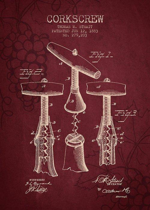 Sparkling Wines Digital Art Greeting Cards