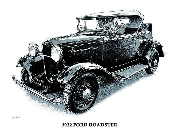 Roadster Greeting Cards