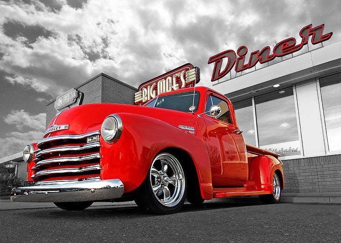 Classic Chevy Truck Greeting Cards