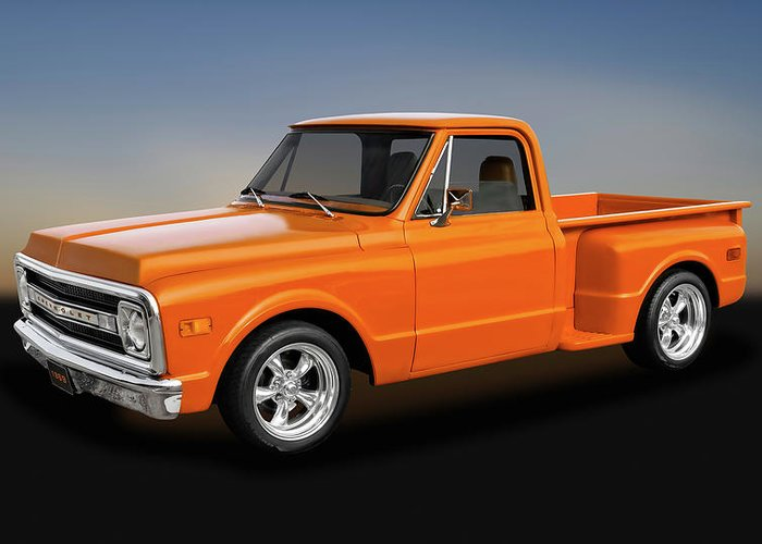 Chevy C10 Greeting Cards