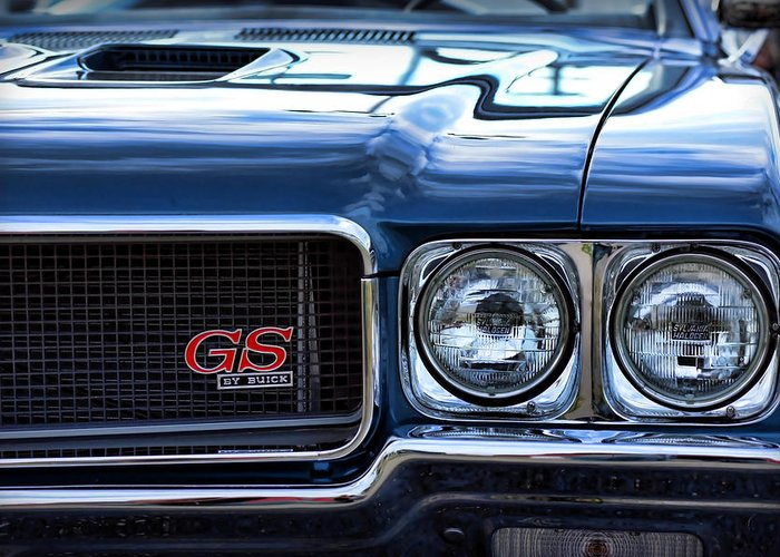 1970 Greeting Card featuring the photograph 1970 Buick Gs 455 by Gordon Dean II