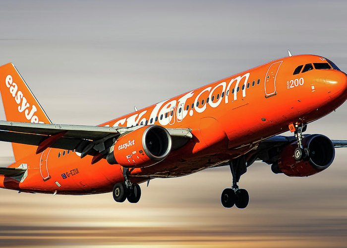 Easyjet Greeting Cards