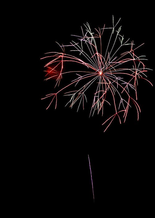 Fireworks Greeting Card featuring the photograph Fireworks by Jason Blalock