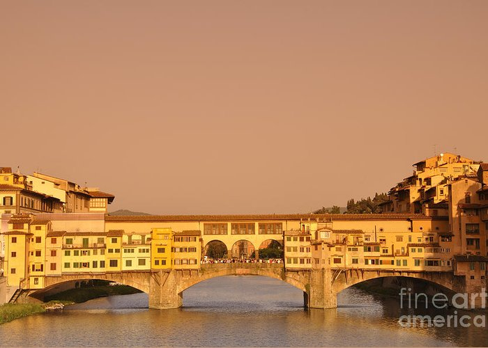 Florence Greeting Card featuring the photograph Florence by LS Photography