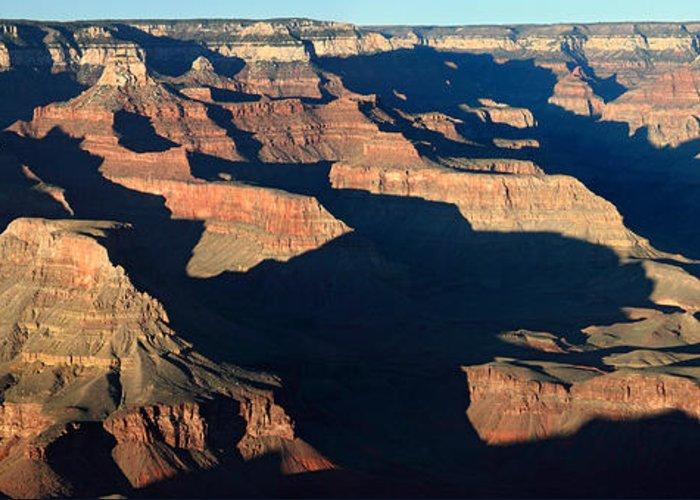 Grand Canyon Greeting Card featuring the photograph Grand Canyon National Park At Sunset by Pierre Leclerc Photography