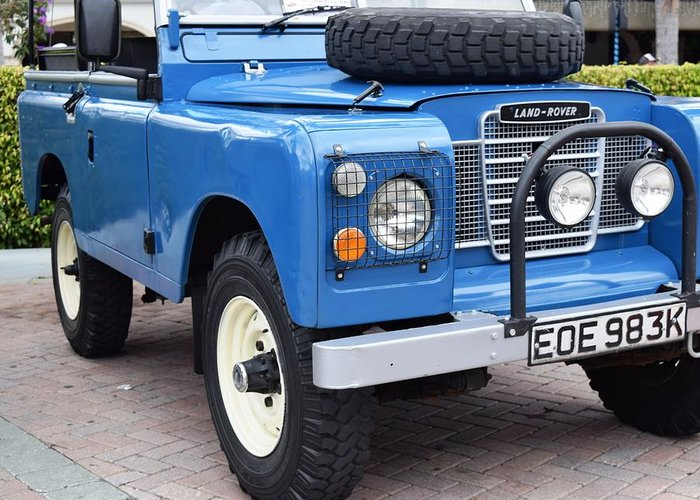 Land Rover Greeting Card featuring the photograph Land Rover by Recluse Road