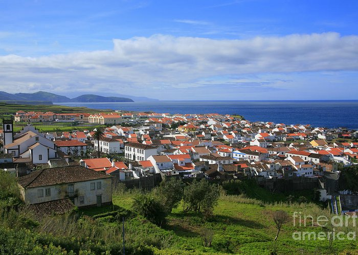 Azores Islands Greeting Card featuring the photograph Maia - Azores Islands by Gaspar Avila