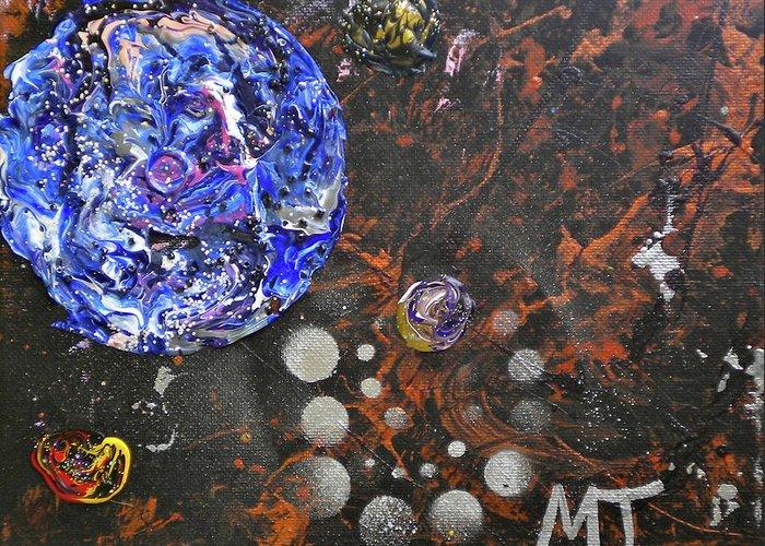 Metagalactic Space Paintings Greeting Cards