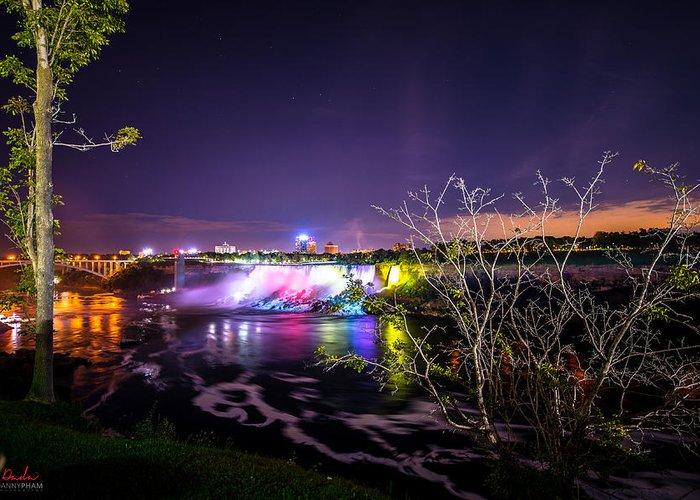 Niagara Falls Greeting Card featuring the photograph Niagara Falls by Danny Pham