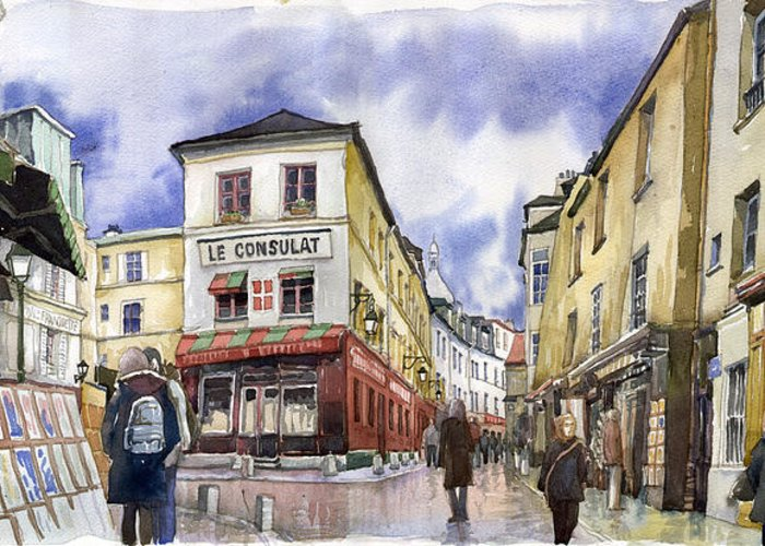 Montmartre Greeting Cards