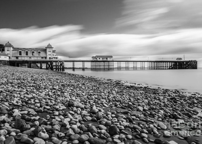 Penarth Pier Greeting Card featuring the photograph Penarth Pier 5 by Steve Purnell