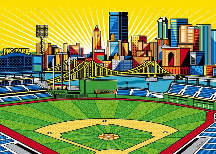 Pittsburgh Artwork Greeting Cards