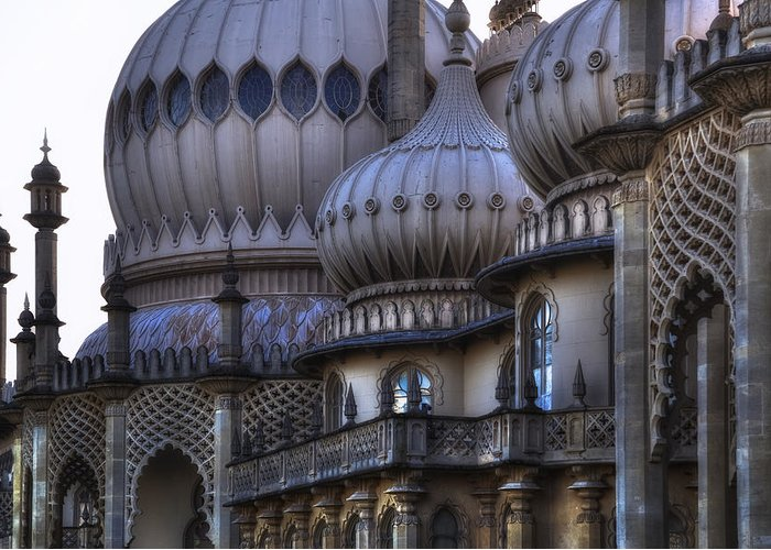 Brighton Greeting Card featuring the photograph Royal Pavilion Brighton by Joana Kruse
